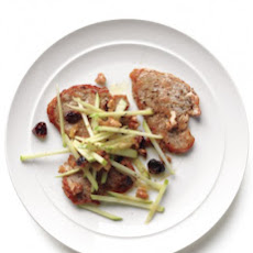 Pork Medallions with Apple-Walnut Slaw