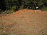 Completed Landfill Gas vent trench