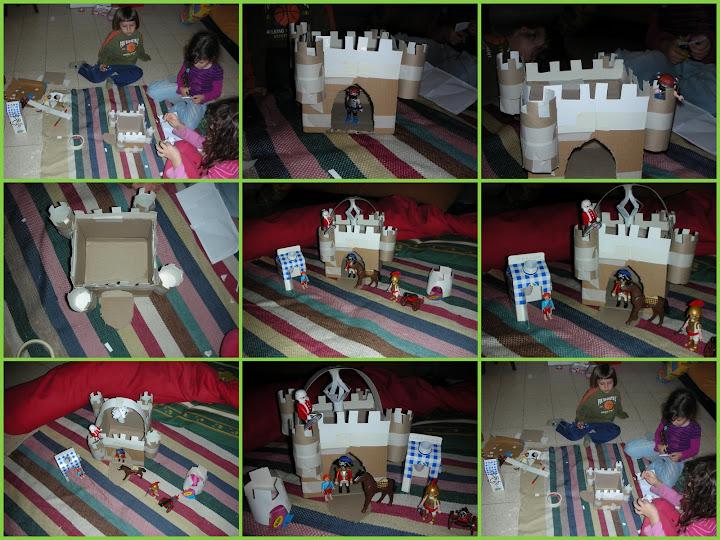 Замок из мусора своими руками 42