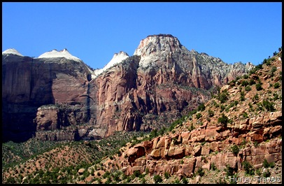 Formidable cliffs of Zion NP