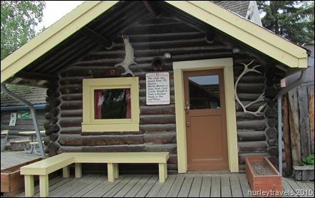 Pioneer cabin from Fairbanks, Alaska