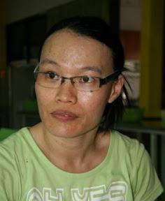 許麗萍在游泳的過程中不放棄
