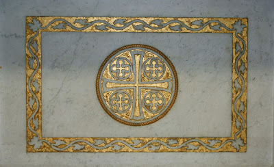 Inlaid Marble Alter Front