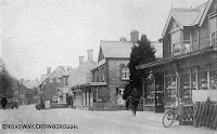 The Broadway, Crowborough c1910