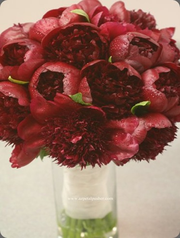 Peonie-Bouquet petal pusher
