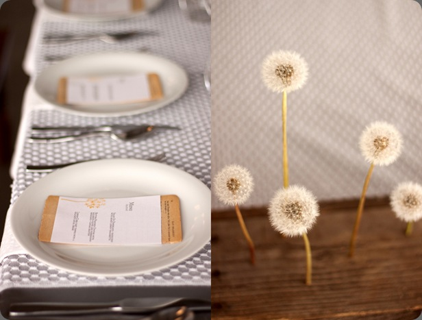 dandelion-budget-friendly-wedding-bouquet-modern-wedding-ideas-yellow-gray-colorp-palette the sweetest occasion
