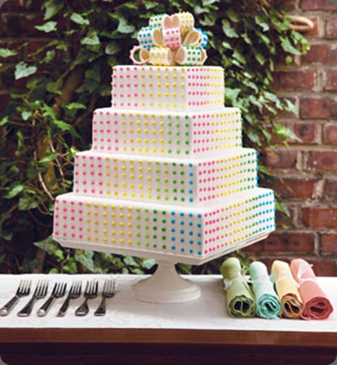 buttoncandy_weddingcake1 dog n' bird artful wedding