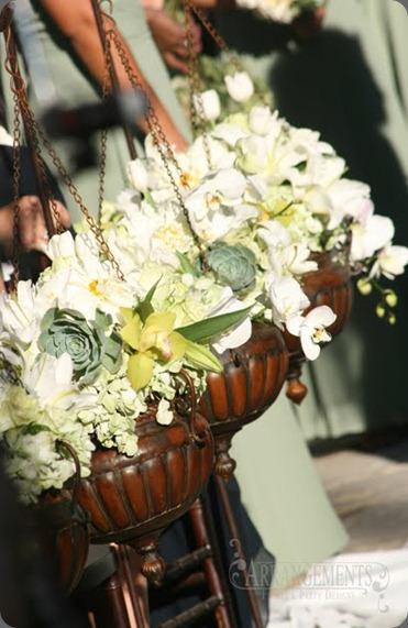 Kennedy-Hilbert,5 arrangements floral desig
