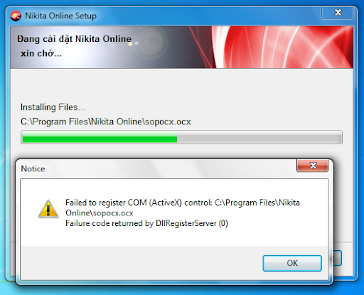 Nikita Online 5.4.2 ErrorWin7a