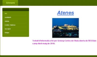 web d' Atenes