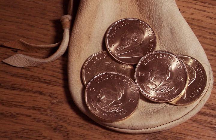 monety złoto