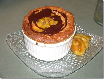 Banoffee - Banana Toffee Souffle