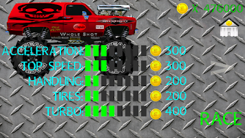 Screenshot of Xtreme Monster Truck Racing