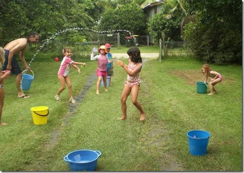 01 sarah bday waterfight