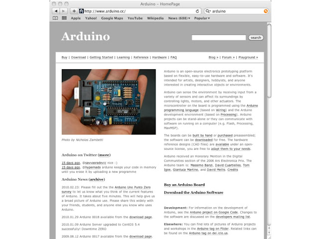Arduino Open-Source Microcontroller