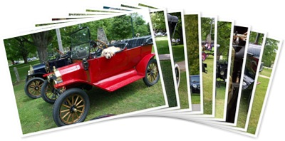 View VINTAGE CARS IN BAYFIELD