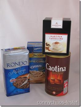 Kaffee und Schokolade