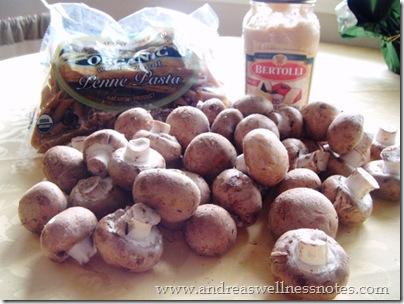 Cheesy Mushroom Pasta 02