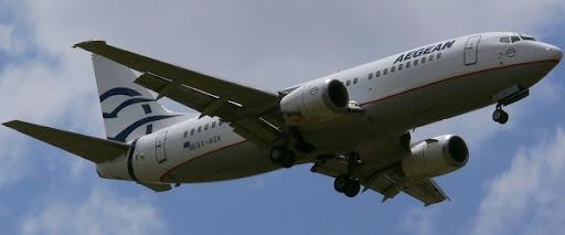 Aegean Airlines Boeing 737-3YO SX-BGK