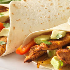 Chilli Chicken Fajitas