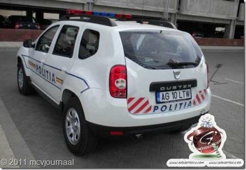 Dacia Duster Politie Boekarest 04