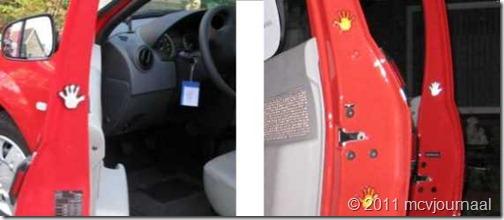 Reflectoren Dacia MCV 10