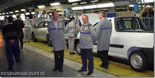 Productiestop Dacia