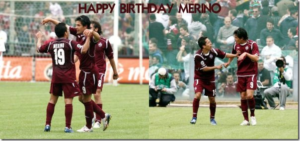 happy birthday ROBERTO MERINO