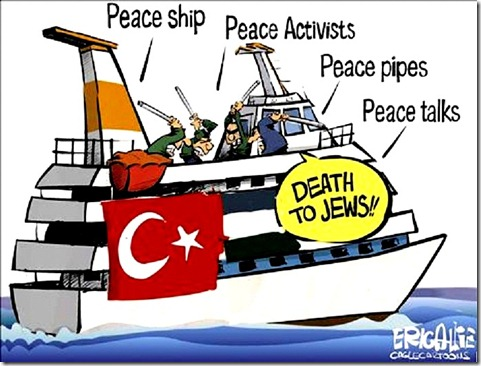 Terrorist Flotilla - Turkey to Gaza
