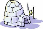 Plume l'ours blanc, L'ours polaire, la banquise, un igloo