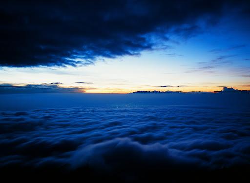 Sunrise on Mt. Marapi