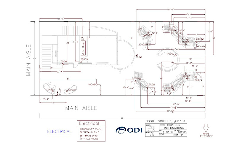 Marvelous Floor Plans Electrical Layouts Hanging Sign Locations CES