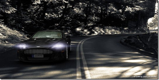 ASTON MARTIN DB9 HDRI Final Render