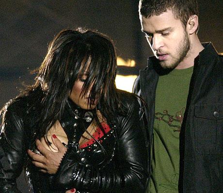 Janet Jackson's Wardrobe Malfunction