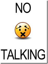 NoTalking