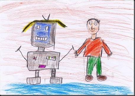 mãe robô