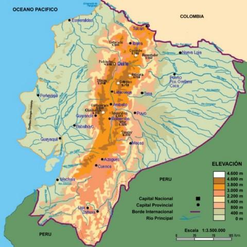 Elevaciones del Ecuador