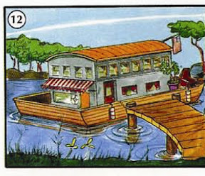 houseboat <!  :en  >TYPES OF HOUSING AND COMMUNITIES<!  :  > place english through pictures 