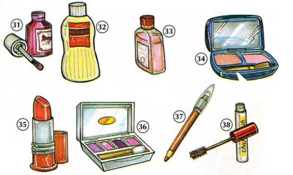 Personal Care Products Online Dictionary For Kids
