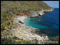 Riserva dello Zingaro beach