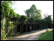 The Open Air Theatre way out