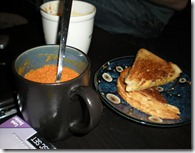 Grilled Cheese and Tomato Soup: Classic.
