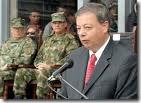 Ministro Defensa colombiano Silva