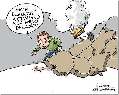 Gervasio Umpiérrez - Bombardeo protector de civiles