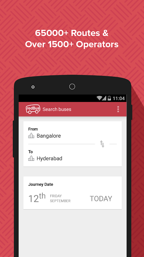 redBus - Bus and Hotel Booking Screenshot 0