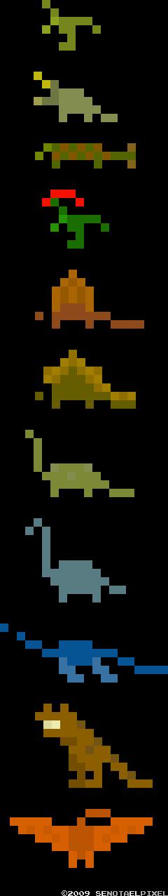 [Imagen Minimalist Pixelsaurs]