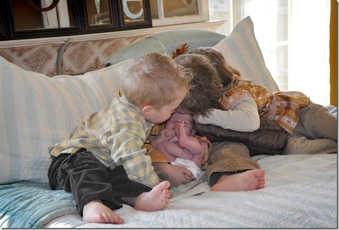 Kids Hug