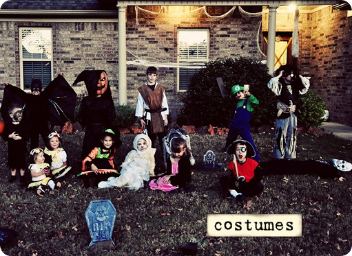 Costumes and friends
