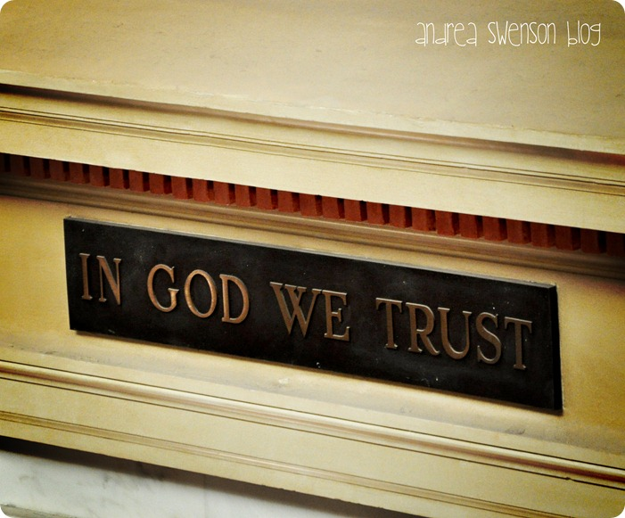 in God we trust cr