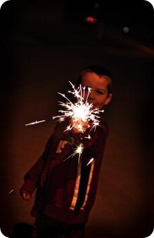 Drew sparkler